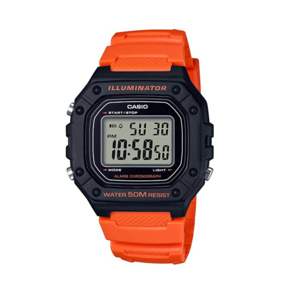 CASIO Collection  W-218H-4B2VDF