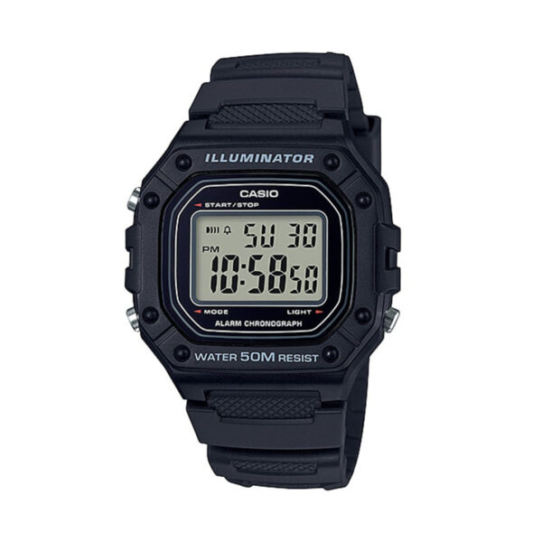 CASIO Collection  W-218H-1AVDF