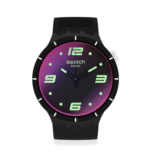 SWATCH Futuristic Black SO27B119