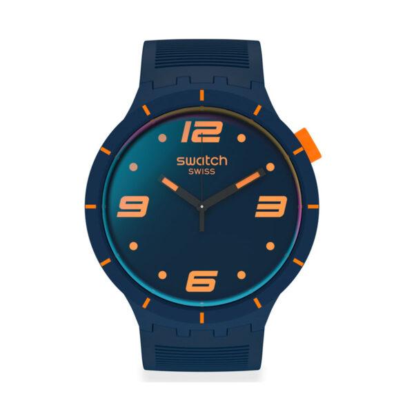 SWATCH Futuristic BlueSO27N110