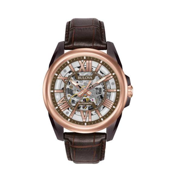 Reloj Bulova Skeleton Automático 98A165