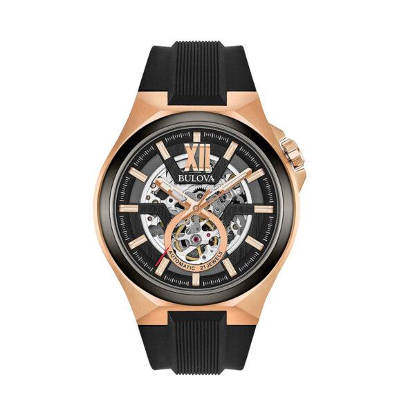 Reloj Bulova Skeleton Automático 98A177